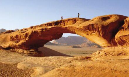 El desierto de la Tierra de tonos rojizos que tanto se parece a Marte
